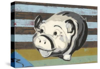 Piggy Bank-Urban Soule-Stretched Canvas Print