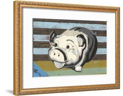 Piggy Bank-Urban Soule-Framed Art Print
