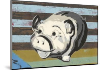 Piggy Bank-Urban Soule-Mounted Art Print