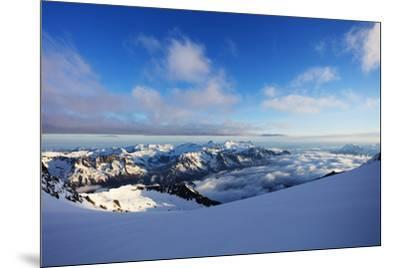 Glacier du Trient, border of Switzerland and France, Alps, Europe-Christian Kober-Mounted Photographic Print