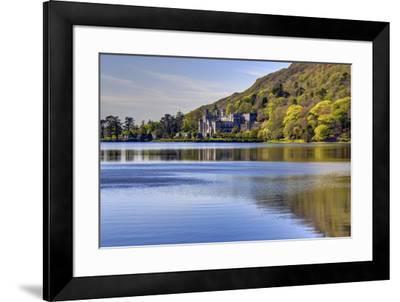 Kylemore Abbey, Connemara, County Galway, Connacht, Republic of Ireland, Europe-Carsten Krieger-Framed Photographic Print