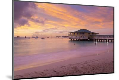 Brownes Beach sunset, St. Michael, Barbados, West Indies, Caribbean, Central America-Frank Fell-Mounted Photographic Print