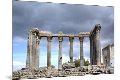 Roman Temple, Evora, UNESCO World Heritage Site, Portugal, Europe-Richard Maschmeyer-Mounted Photographic Print