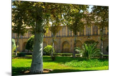 Gardens of Golestan Palace, UNESCO World Heritage Site, Tehran, Iran, Middle East-James Strachan-Mounted Photographic Print