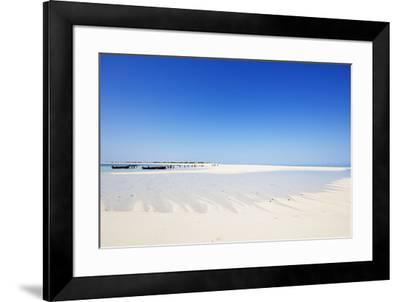 Anakao, Nosy Ve island, southern area, Madagascar, Africa-Christian Kober-Framed Photographic Print