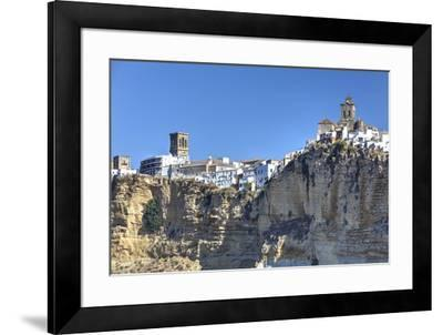 Overview from the south, Arcos de la Frontera, Andalucia, Spain, Europe-Richard Maschmeyer-Framed Photographic Print