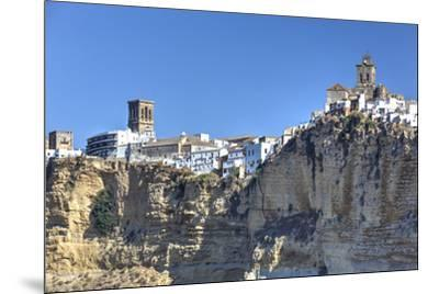 Overview from the south, Arcos de la Frontera, Andalucia, Spain, Europe-Richard Maschmeyer-Mounted Photographic Print