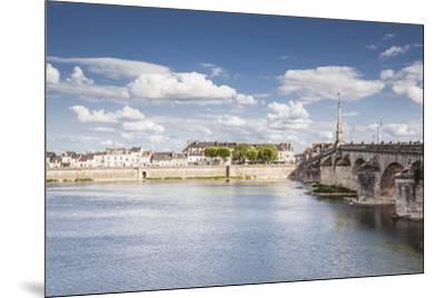 The Pont Jacques Gabriel in Blois, Loir-et-Cher, Centre-Val de Loire, France, Europe-Julian Elliott-Mounted Photographic Print