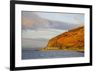 Catacol, Isle of Arran, North Ayrshire, Scotland, United Kingdom, Europe-Gary Cook-Framed Photographic Print