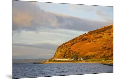 Catacol, Isle of Arran, North Ayrshire, Scotland, United Kingdom, Europe-Gary Cook-Mounted Photographic Print