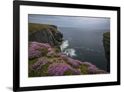Loop Head, County Clare, Munster, Republic of Ireland, Europe-Carsten Krieger-Framed Photographic Print