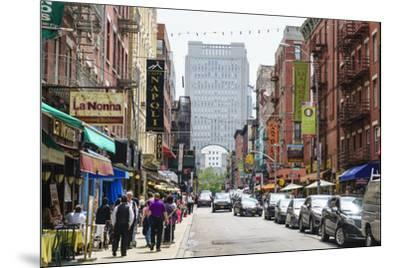 Little Italy, Manhattan, New York City, United States of America, North America-Fraser Hall-Mounted Photographic Print