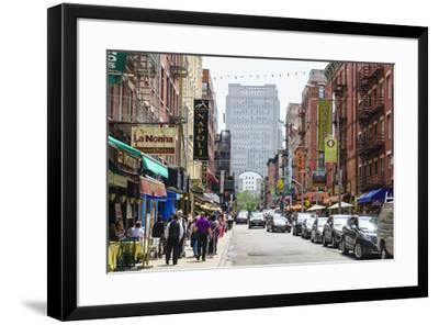 Little Italy, Manhattan, New York City, United States of America, North America-Fraser Hall-Framed Photographic Print