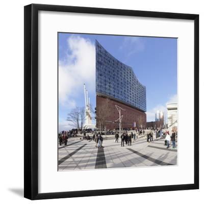 Elbphilharmonie, HafenCity, Hamburg, Hanseatic City, Germany, Europe-Markus Lange-Framed Photographic Print