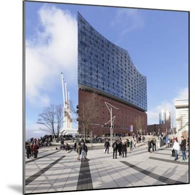 Elbphilharmonie, HafenCity, Hamburg, Hanseatic City, Germany, Europe-Markus Lange-Mounted Photographic Print
