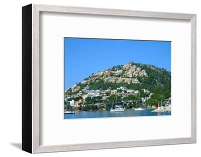 Port d'Andratx fishing village, Majorca, Balearic Islands, Spain, Mediterranean, Europe-Carlo Morucchio-Framed Photographic Print