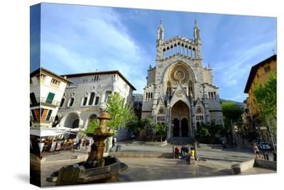 Sant Bartomeu Church, Soller, Majorca, Balearic Islands, Spain, Europe-Carlo Morucchio-Stretched Canvas Print