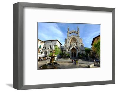 Sant Bartomeu Church, Soller, Majorca, Balearic Islands, Spain, Europe-Carlo Morucchio-Framed Photographic Print