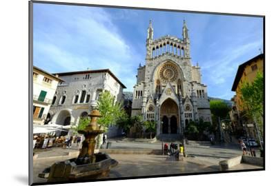 Sant Bartomeu Church, Soller, Majorca, Balearic Islands, Spain, Europe-Carlo Morucchio-Mounted Photographic Print