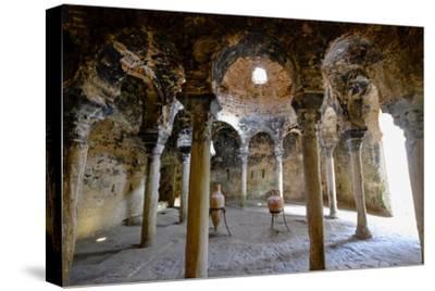 Arab baths, Banys Arabs, Palma, Majorca, Balearic Islands, Spain, Europe-Carlo Morucchio-Stretched Canvas Print