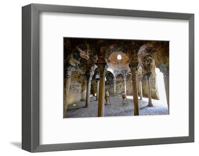 Arab baths, Banys Arabs, Palma, Majorca, Balearic Islands, Spain, Europe-Carlo Morucchio-Framed Photographic Print