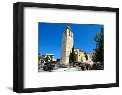 Santa Maria la Major church, Inca, Majorca, Balearic Islands, Spain, Europe-Carlo Morucchio-Framed Photographic Print