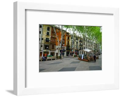 Passeig del Born, the shopping street of Palma, Majorca, Balearic Islands, Spain, Europe-Carlo Morucchio-Framed Photographic Print