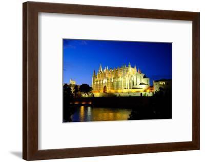 La Seu, the Cathedral of Santa Maria of Palma, Majorca, Balearic Islands, Spain, Europe-Carlo Morucchio-Framed Photographic Print