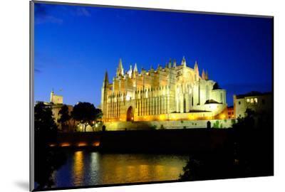 La Seu, the Cathedral of Santa Maria of Palma, Majorca, Balearic Islands, Spain, Europe-Carlo Morucchio-Mounted Photographic Print
