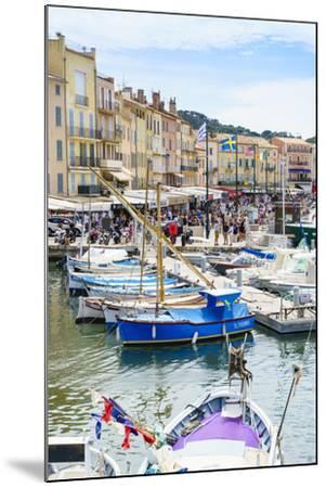 Quai Jean Jaures, Saint-Tropez, Var, Cote d'Azur, Provence, France, Mediterranean, Europe-Fraser Hall-Mounted Photographic Print
