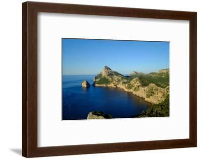 Punta Nau seen from el Mirador Es Colomer in the Formentor Peninsula, Majorca, Balearic Islands, Sp-Carlo Morucchio-Framed Photographic Print