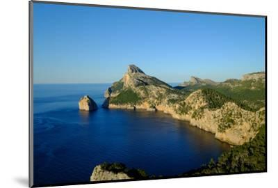Punta Nau seen from el Mirador Es Colomer in the Formentor Peninsula, Majorca, Balearic Islands, Sp-Carlo Morucchio-Mounted Photographic Print