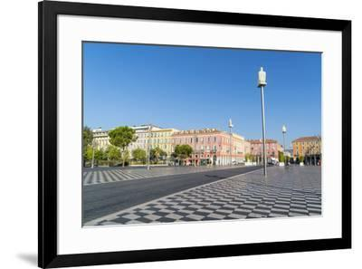 Place Messina, Nice, Alpes Maritimes, Cote d'Azur, Provence, France, Mediterranean, Europe-Fraser Hall-Framed Photographic Print