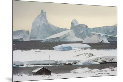 Vernadsky Research Base, the Ukrainian Antarctic station at Marina Point on Galindez Island in the -Sergio Pitamitz-Mounted Photographic Print