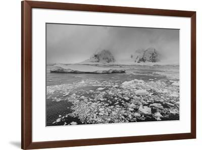 Icebergs in the Herrera Channel, Antarctica, Polar Regions-Sergio Pitamitz-Framed Photographic Print