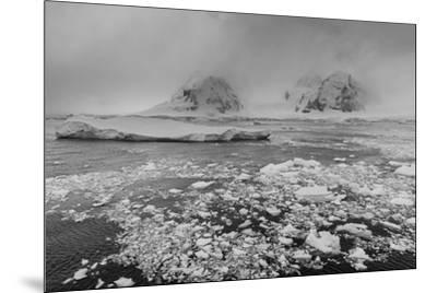 Icebergs in the Herrera Channel, Antarctica, Polar Regions-Sergio Pitamitz-Mounted Photographic Print