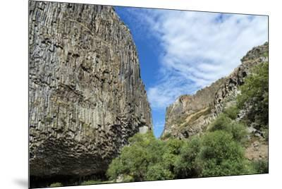 Symphony of Stones, Basalt columns formation along Garni gorge, Kotayk Province, Armenia, Caucasus,-G&M Therin-Weise-Mounted Photographic Print