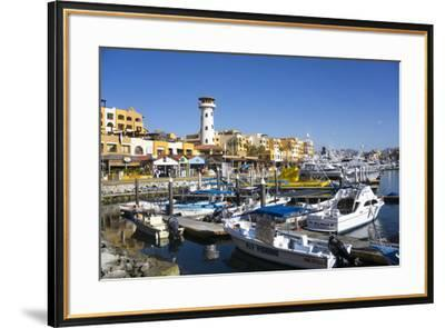Cabo San Lucas Marina, Baja California, Mexico, North America-Peter Groenendijk-Framed Photographic Print