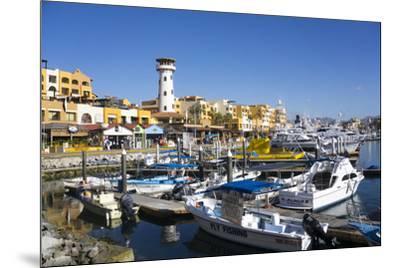 Cabo San Lucas Marina, Baja California, Mexico, North America-Peter Groenendijk-Mounted Photographic Print