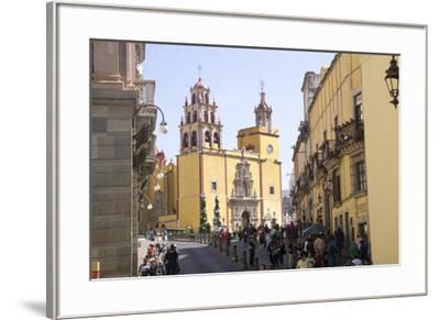 Basilica Collegiata de Nuestra Signora, Guanajuato, UNESCO World Heritage Site, Mexico, North Ameri-Peter Groenendijk-Framed Photographic Print