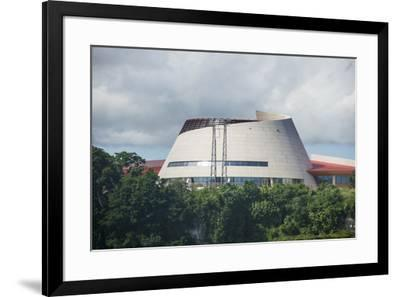The Parliament of Vanuatu, Port Vila, Efate, Vanuatu, Pacific-Michael Runkel-Framed Photographic Print