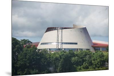 The Parliament of Vanuatu, Port Vila, Efate, Vanuatu, Pacific-Michael Runkel-Mounted Photographic Print