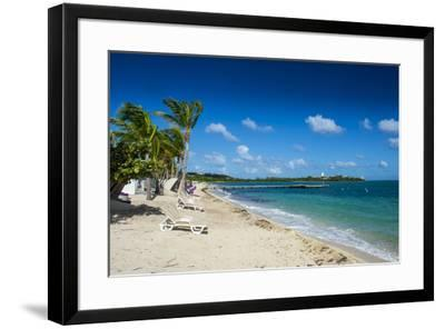St. Martin, French territory, West Indies, Caribbean, Central America-Michael Runkel-Framed Photographic Print