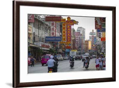 Chinatown, Bangkok, Thailand, Southeast Asia, Asia-Frank Fell-Framed Photographic Print