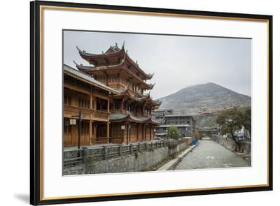 Songpan, Sichuan province, China, Asia-Michael Snell-Framed Photographic Print