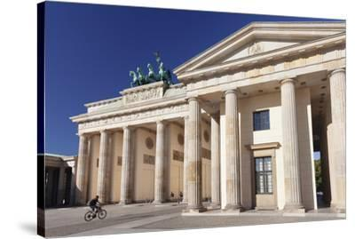 Brandenburg Gate (Brandenburger Tor), Pariser Platz square, Berlin Mitte, Berlin, Germany, Europe-Markus Lange-Stretched Canvas Print