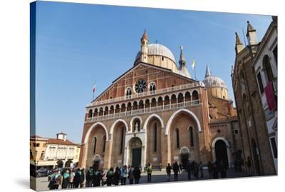 Saint Anthony Basilica in Padua, Veneto, Italy, Europe-Marco Brivio-Stretched Canvas Print