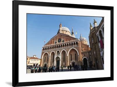 Saint Anthony Basilica in Padua, Veneto, Italy, Europe-Marco Brivio-Framed Photographic Print
