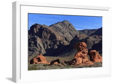 Beehives area, Valley of Fire State Park, Overton, Nevada, United States of America, North America-Richard Cummins-Framed Photographic Print
