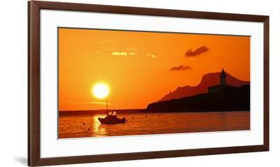 Morning mood at the Lighthouse of Alcanada, Alcudia, Majorca, Balearic Islands, Spain, Mediterranea-Hans-Peter Merten-Framed Premium Photographic Print